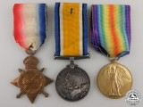 A First War Canadian Medal Group to Flight Cadet Stevens RAF