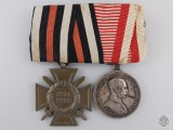 A First War German & Austrian Pair of Awards
