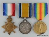 A First War Medal Trio to the Canadian Field Artillery