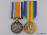 A First War Medal Pair to Major Edwin Warner C.A.M.C.  Consgin: 17