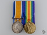 A First War Medal Pair to the Machine Gun Corps
