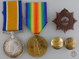 A First War Medal Pair to Pte. Francis Ranger AKA Francis Keilty
