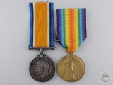 A First War Medal Pair to the King's Royal Rifle Corps
