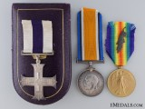 A First War Military Cross & MID to Major Hugh P. Williams 1917