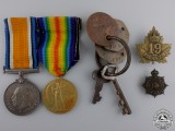A First War Pair to the 19th Canadian Infantry