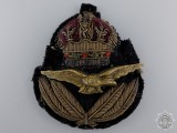 A First War RAF Officer's Cap Badge