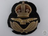 A First War Royal Air Force (RAF) Officer's Cap Badge