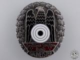 A German Shooting Federation (DSB) Gau Championship Badge