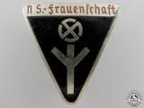 A German Women's League Membership Badge; Type III