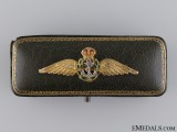 A Gold Fleet Air Pilot Wings with Cased