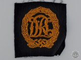 A Gold Grade DRL Badge; Cloth Version