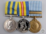 A Korean War Medal Group to the Royal Canadian Navy