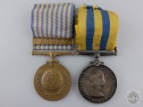 A Korean War Medal Pair to the Royal Canadian Navy