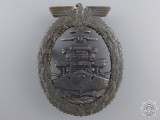 A Kriegsmarine High Seas Fleet Badge