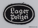 A Lager Polizei Cloth Insignia