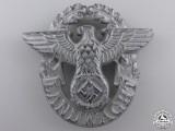 A Landwacht Police Cap Badge