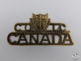 A Laval Canadian Officer's Training Corps Shoulder Title