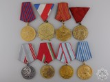 A Lot of Eight Medals & Awards