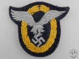 A Luftwaffe Combined Pilot-Observer Badge; Cloth Version