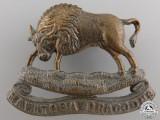 A Manitoba Dragoons Cap Badge