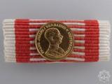 A Miniature Austrian Bravery Medal; Gold Grade (1914-1916)