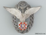 A Mint Conditioned WWII Croatian Pilot's Badge; Type II