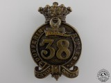 A Pre 1904 38th Dufferin Rifles Cap Badge