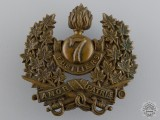 A Pre First War 7th Fusiliers Cap Badge