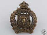 A Pre First War 21st Alberta Hussars Collar Badge
