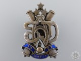 A Pre Second War Latvian Artillery Badge