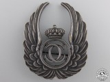 A Pre Second War Romanian Air Force Observer Badge (1930-40)