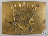 A Pre-WWI Austrian Belt Buckle for Troops in Bosnia
