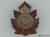 A Pre-WWI Cape Breton Highlanders Cap Badge