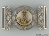 A Rare 13th Regiment (Hamilton Light Infantry) Officer's Buckle