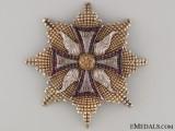 A Rare 1820's Order of White Eagle  Breast Star