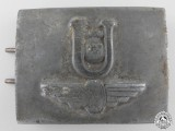 A Rare Croatian Ustasha Railway Battalion Buckle