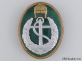 A Rare Hungarian Boat Leader's Badge