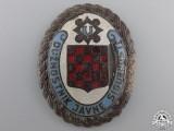 A Rare Second War Croatian Internal Police Badge