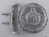 A Recovered SS Officer's Belt Buckle by Overhoff & Cie Lüdenscheid