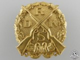 A Reich Association of German Small-Caliber Rifle Formations Badge; Gold Grade
