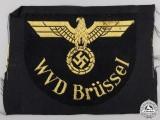 A Reichsbahn Ärmeladler RBD WVD Brussel