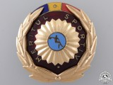 A Romanian Order of Sport Merit; First Class in Gold