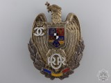 A Romanian Reserve Officer's Badge