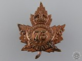 A Royal Highlanders of Canada (Black Watch) CEF Cap Badge