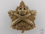 A Scarce First War Eaton's Motor Machine Gun Battery Cap Badge