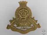 A Second War 17th Duke of York's Royal Canadian Hussars Cap Badge