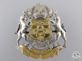 A Second War Calgary Regiment (Tank) Cap Badge