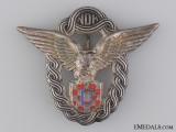 A Second War Croatian Pilot's Badge by Braća Knaus