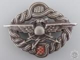A Second War Croatian Radio Operator & Air Gunner Badge