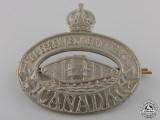 A Second War Essex Regiment (Tank) Cap Badge